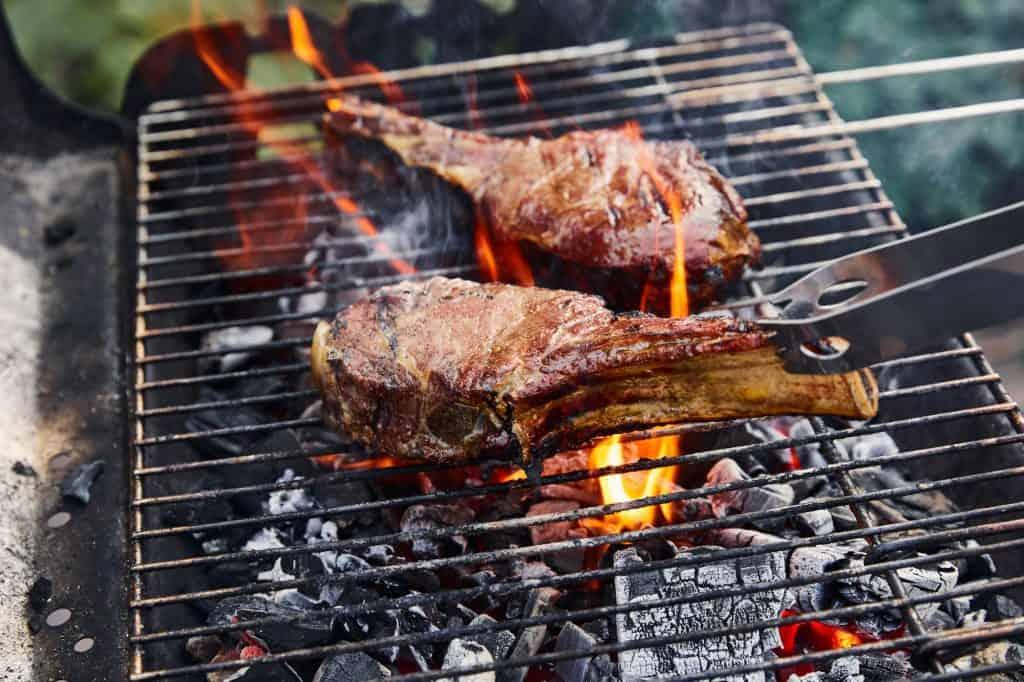 Charcoal Grill - Lamb