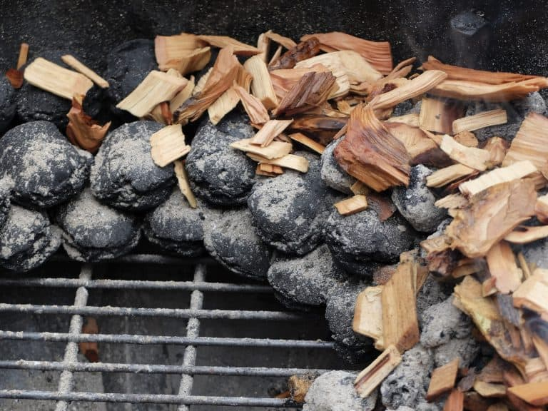 Coals and Wood Chips