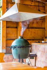 Kamado Grill Smoking