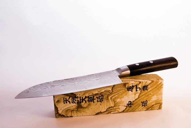 Freshly Honed Japanese Knife