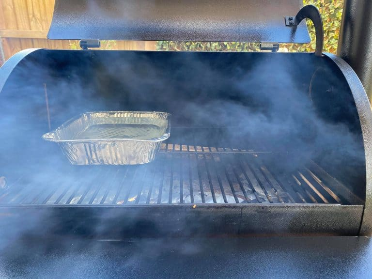 Water Pan In Pellet Smoker