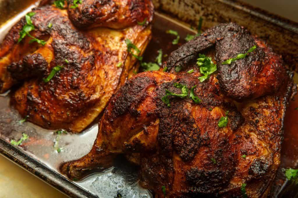 Cajun Blackened Whole Chicken