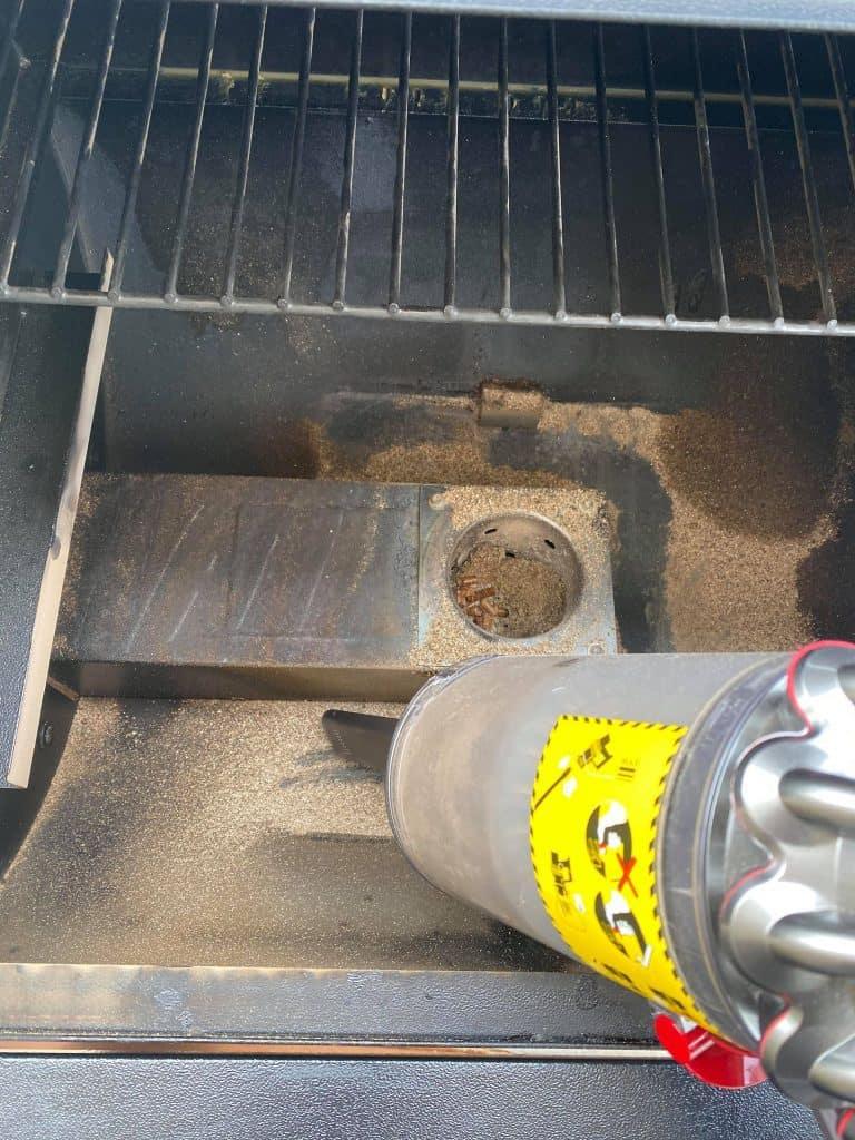 Vacuuming Pellet Grill