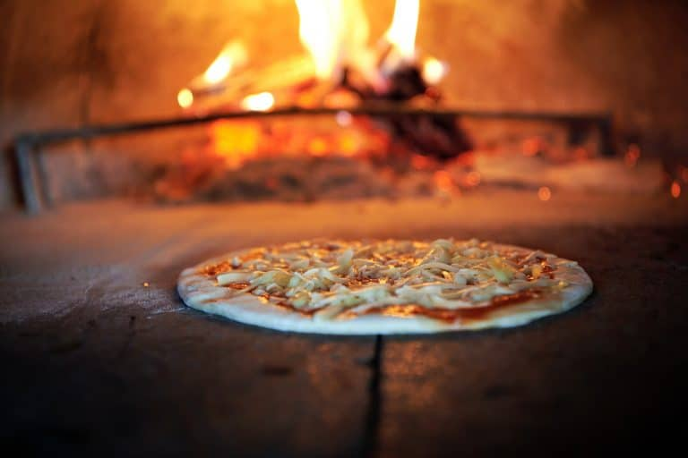 Smoking Pizza In Pizza Oven